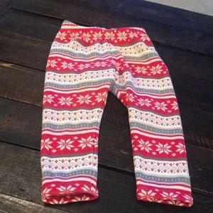 Gymboree 18-24 months girls fleece pants